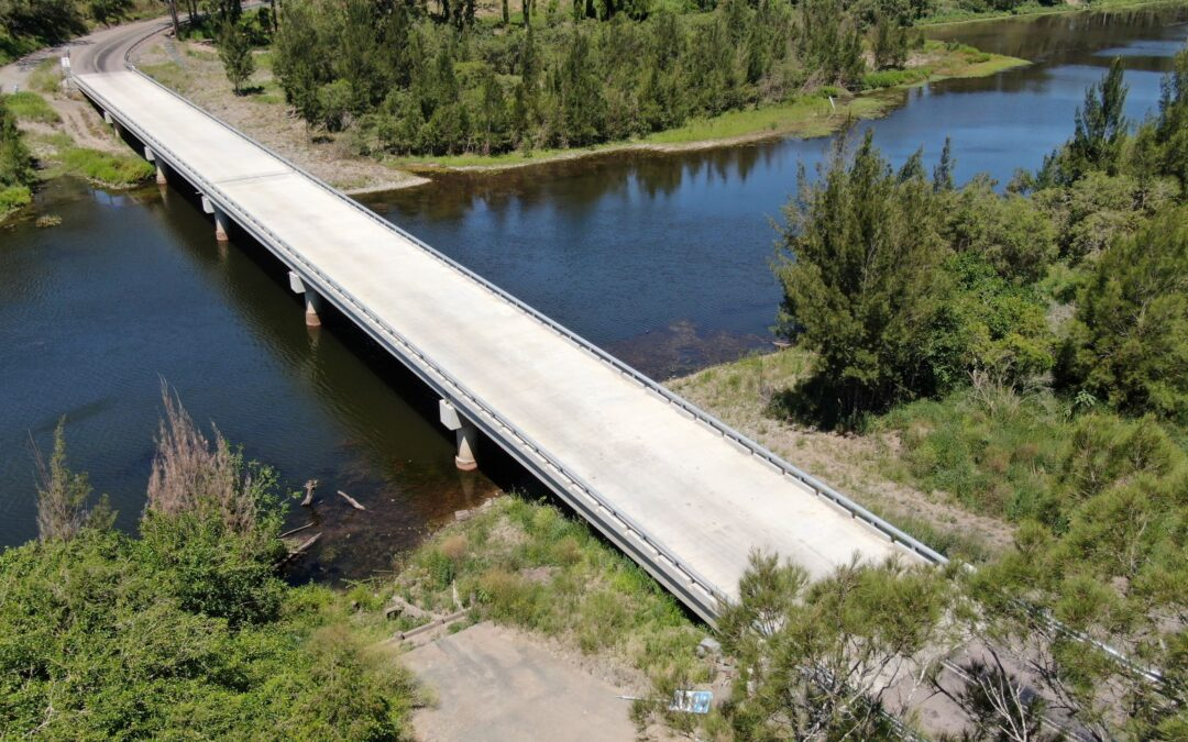 Bridge over the Macleay River